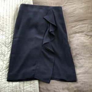 J. Crew ruffle pencil skirt! NWT